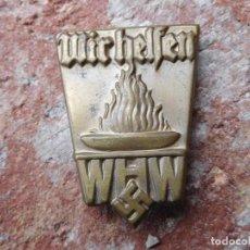 Militaria: INSIGNIA ALEMANA ORIGINAL III REICH WHW. Lote 165741130