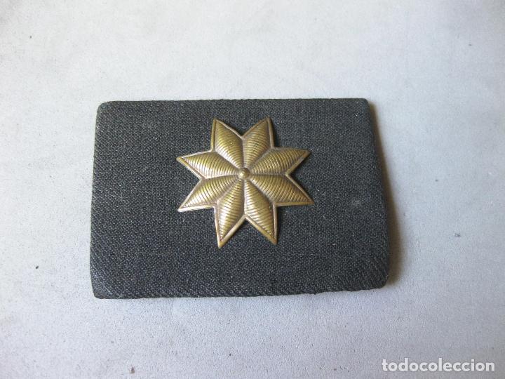 GALLETA O DISTINTIVO DE PECHO DE COMANDANTE PROVISIONAL DE LA GUERRA CIVIL - AUTÉNTICO DE ÉPOCA (Militar - Insignias Militares Españolas y Pins)
