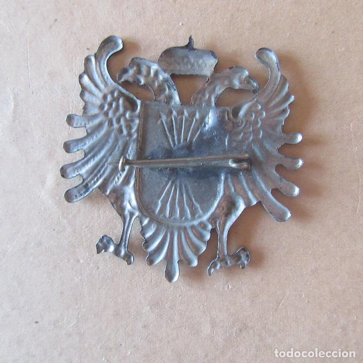 Militaria: rara insignia carlista requete falange guerra civil - Foto 2 - 166307586