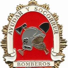 Militaria: EMBLEMA DISTINTIVO PLACA DE CARTERA DE BOMBEROS. Lote 166819554