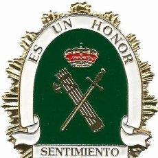 Militaria: DISTINTIVO EMBLEMA PLACA GUARDIA CIVIL FANTASÍA . Lote 166822178