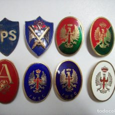Militaria: CHAPAS IPS, IMEC, AGBS, AGM, Y ESCALA MEDIA,. Lote 167024460