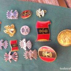 Militaria: LOTE EMBLEMAS DE FALANGE. Lote 167616140