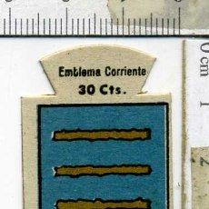Militaria: EMBLEMA AUXILIO SOCIAL DE SOLAPA SERIE B Nº 259 TAMARGO CORRIENTE 30 CTS. Lote 167751560