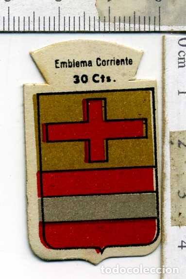 EMBLEMA AUXILIO SOCIAL DE SOLAPA SERIE B Nº 131 ARRIA CORRIENTE 30 CTS (Militar - Insignias Militares Españolas y Pins)