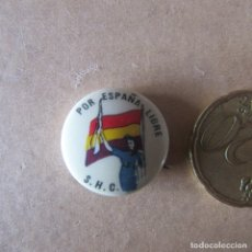 Militaria: PIN INSIGNIA BRIGADAS INTERNACIONALES GUERRA CIVIL ESPAÑOLA REPUBLICA SHC UNICA. Lote 167864476