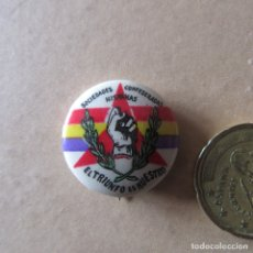 Militaria: PIN INSIGNIA BRIGADAS INTERNACIONALES GUERRA CIVIL ESPAÑOLA REPUBLICA SHC UNICA. Lote 167864576