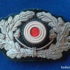 Militaria: CUCARDA COCARDA PARA GORRA DE VISARA DE OFICIAL - ORIGINAL ALEMANIA TERCER REICH. Lote 168056276