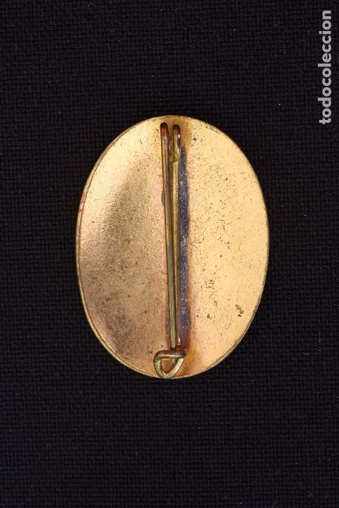 Militaria: SERVICIO SOCIAL-INSIGNIA ALFILER DE COLOR MARRON - Foto 2 - 168849436