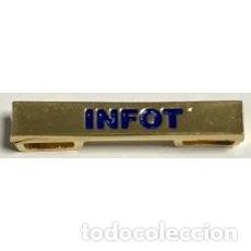Militaria: BARRA ESPECIALIDAD INFOT. Lote 169151420