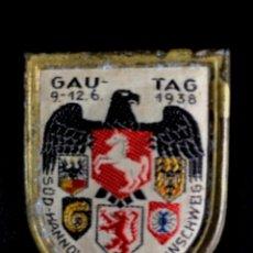 Militaria: INSIGNIA CONGRESO PARTIDO NAZI ALEMÁN. NSDAP. Lote 169268204