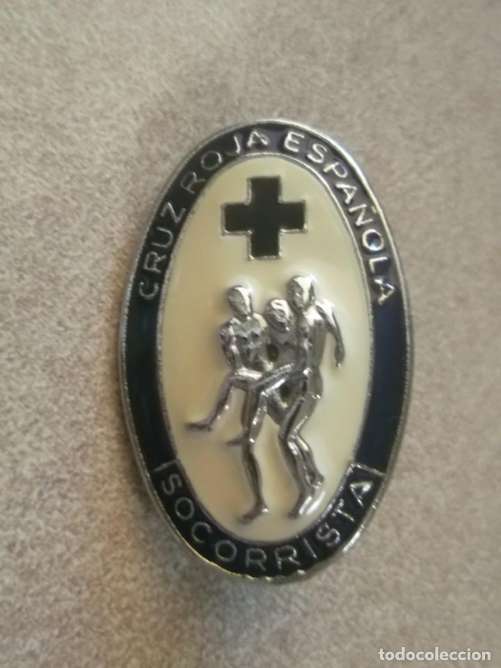PIN CRUZ ROJA ESPAÑOLA. SOCORRISTA (Militar - Insignias Militares Españolas y Pins)