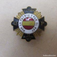 Militaria: PIN INSIGNIA FALANGE ESMALTES. Lote 169997652