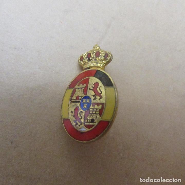 PIN INSIGNIA ALFONSO XIII ESMALTES (Militar - Insignias Militares Españolas y Pins)