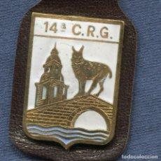 Militaria: POLICÍA NACIONAL Y ARMADA. CRG. COMPAÑÍA DE RESERVA GENERAL. NÚMERO 14. Lote 196915621