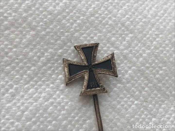 Militaria: Stick Pin Cruz de Hierro 1939 Tercer Reich Adolf Hitler Fuhrer NSDAP nazi EK1 EK2 - Foto 3 - 170290164