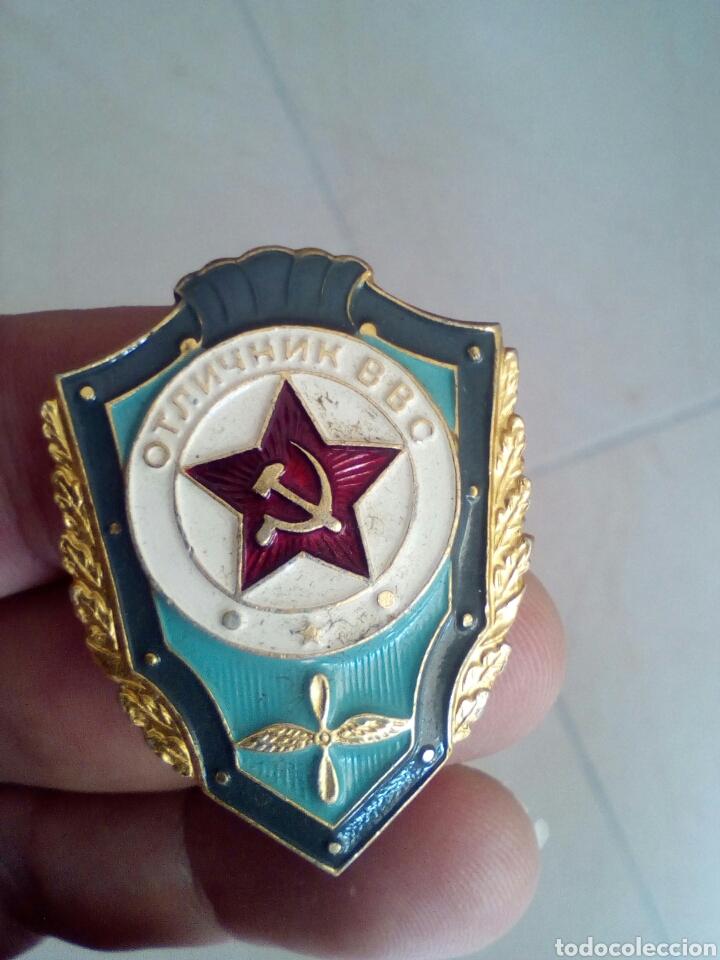 BROCHE MILITAR DE LA ANTIGUA URSS (Militar - Insignias Militares Extranjeras y Pins)