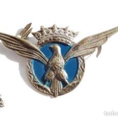 Militaria: INSIGNIA ALAS DE AVIACIÓN CIVIL 2º MODELO ÉPOCA DE FRANCO - ROKISKI DISTINTIVO DE PECHO. Lote 170655380