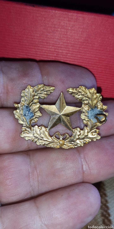 Militaria: Distintivo de Estado Mayor del Ejército época Alfonso XIII guerra civil - Foto 2 - 170673924