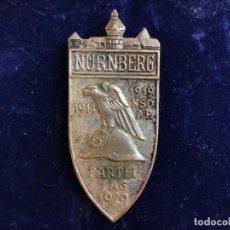 Militaria: INSIGNIA CONMEMORATIVA DEL REICHSPARTEITAG NSDAP 1929, III TERCER REICH, HITLER, NAZI. Lote 170951615