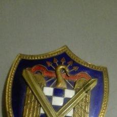 Militaria: EMBLEMA DISTINTIVO MILICIAS UNIVERSITARIAS.. Lote 171106844