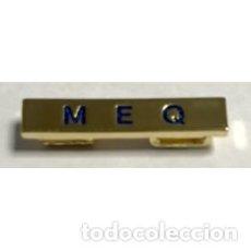 Militaria: BARRA DISTINTIVO ESPECIALIDAD MEQ. Lote 171493742