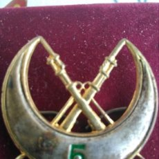 Militaria: INSIGNIA MILITAR TROPAS REGULARES DE ALHUCEMAS 5. Lote 171825554