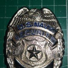 Militaria: US NAVY. PLACA DE POLICIA. SEGURIDAD.. Lote 172087663