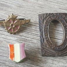 Militaria: LOTE INSIGNIAS REPUBLICA ESPAÑOLA GUERRA CIVIL. Lote 172151540