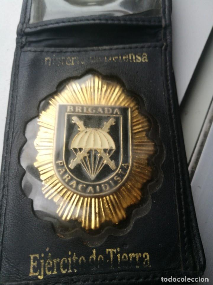 PLACA EMBLEMA BRIGADA PARACAIDISTA (Militar - Insignias Militares Españolas y Pins)