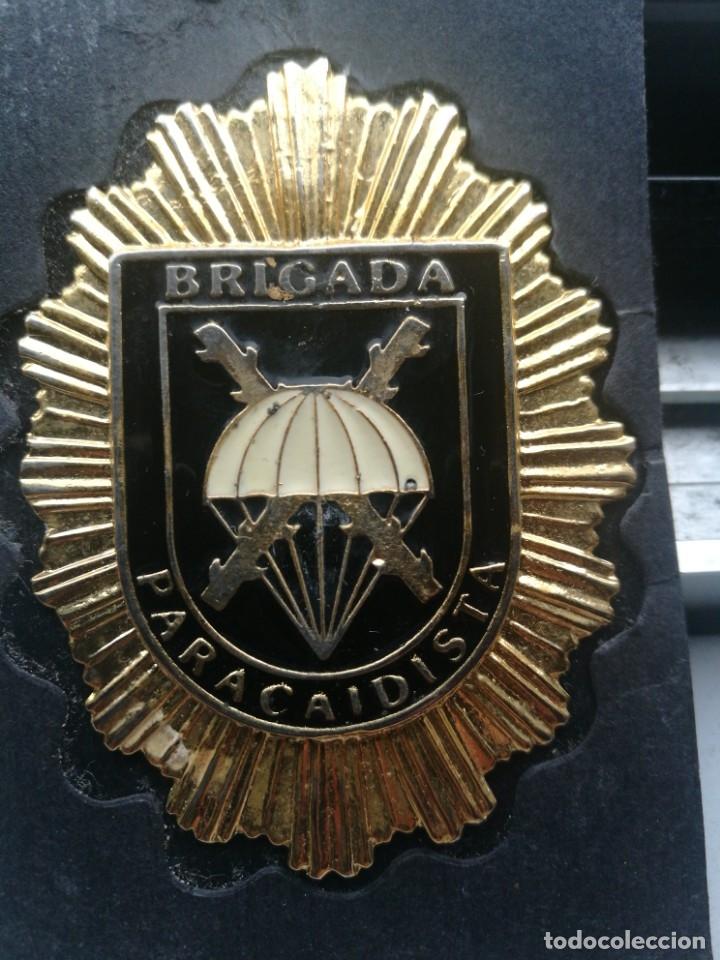 Militaria: Placa emblema brigada paracaidista - Foto 2 - 172310613