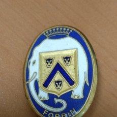 Militaria: INSIGNIA DEL BARCO FRANCES FORBIN, 3,2 CM. Lote 172664894