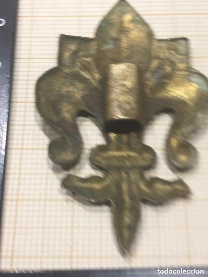 Militaria: Insignia para cordón de flor de Lis de los Boy Scouts - Foto 5 - 172692595
