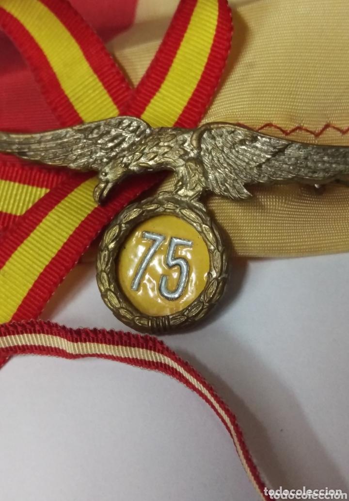 Militaria: Importante Insignia conmemorativa 75 saltos brigada paracaidista - Foto 4 - 174066858