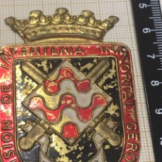Militaria: EMBLEMA DE BRAZO GERONA 41. Lote 174440840