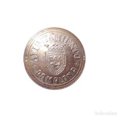 Militaria: CHAPA DE BOINA. AYUNTAMIENTO DE PAMPLONA.. Lote 174952374