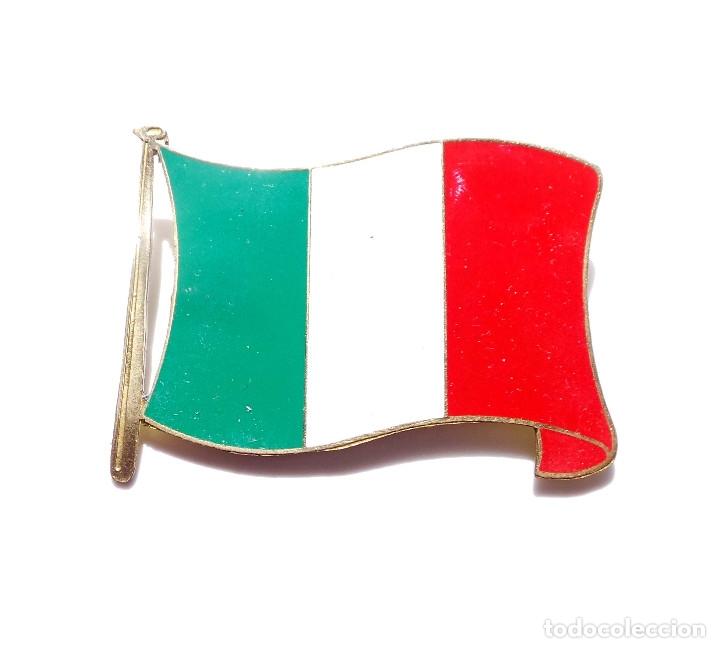 Militaria: INSIGNIA BANDERA DE ITALIA - Foto 2 - 175272903