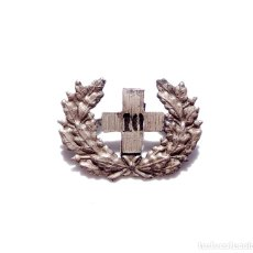 Militaria: DISTINTIVO CRUZ ROJA. 3 CM DE ANCHO. Lote 175274430