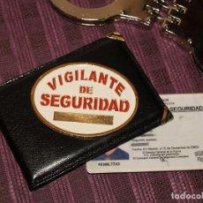 Militaria: PLACA VIGILANTE DE SEGURIDAD. Lote 175329283