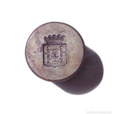 Militaria: TROQUEL PARA ESCUDO CIUDAD DE RONDA. MÁLAGA.. Lote 175399232