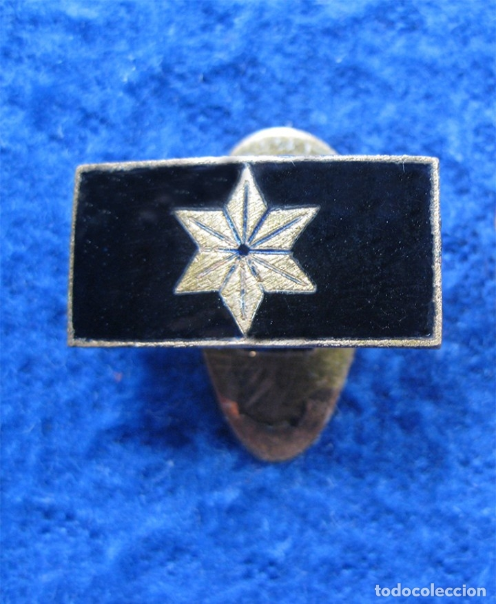 INSIGNIA ALFÉREZ PROVISIONAL GUERRA CIVIL ESPAÑOLA Y POST GUERRA (Militar - Insignias Militares Españolas y Pins)