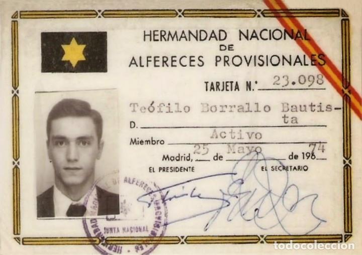 Militaria: INSIGNIA ALFÉREZ PROVISIONAL GUERRA CIVIL ESPAÑOLA Y POST GUERRA - Foto 5 - 175738227