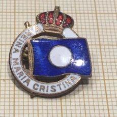 Militaria: PIN DE ALFILER V. REINA MARIA CRISTINA. Lote 176079418