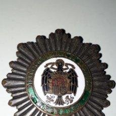 Militaria: PLACA DE INSPECTOR DIRECCIÓN GENERAL DE SEGURIDAD.TOTALMENTE ORIGINAL. Lote 176102714