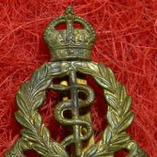 Militaria: ORIGINAL - EPOCA 2ª GUERRA MUNDIAL INSIGNIA ROYAL ARMY MEDICAL CORPS - REINO UNIDO 45 X 30 MM. Lote 176284730