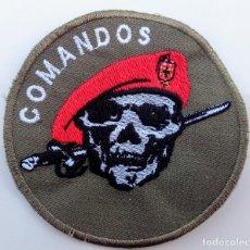 Militaria: EMBLEMA, INSIGNIA PARCHE TELA BORDADO COMANDOS PORTUGAL. Lote 176327132