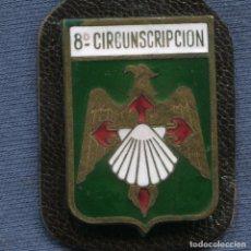 Militaria: POLICÍA NACIONAL. DISTINTIVO O PEPITO DE LA 8ª CIRCUNSCRIPCIÓN.. Lote 196915607