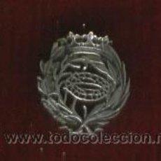 Militaria: INSIGNIA SOLAPA CIENCIAS BIOLÓGICAS. PIEZA ÚNICA.EN PLATA DE LEY. Lote 176796507