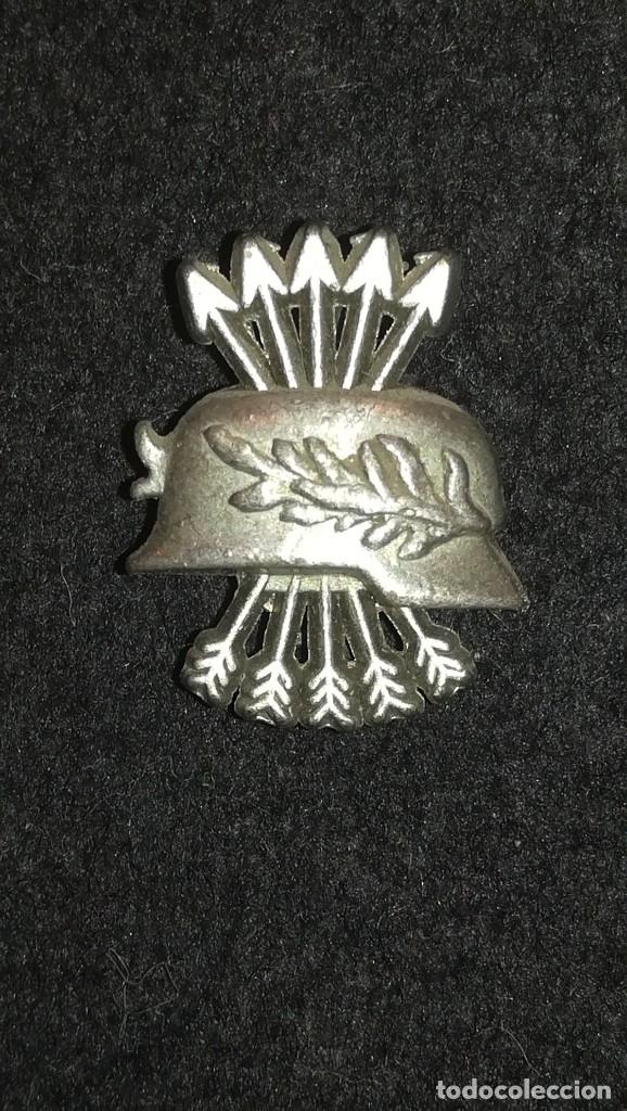 PIN DIVISION AZUL EXCOMBATIENTE DE GUERRA CIVIL Y DIVISION AZUL (Militar - Insignias Militares Españolas y Pins)