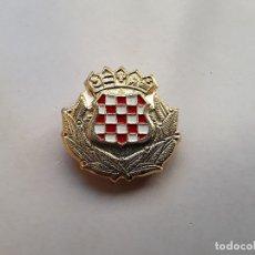 Militaria: YUGOSLAVIA - GUERRA DE LOS BALCANES: INSIGNIA DE BOINA O GORRA. TROPAS DE CROACIA. ENVÍO GRATUITO.. Lote 177942698